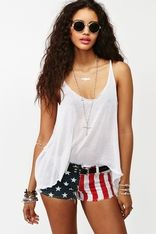 America Cutoff Shorts!! Just ordered mine!!