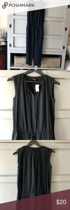 Loft Black Sleeveless Romper Jumpsuit - xs New with tags- Black Romper- xsmall LOFT Pants Jumpsuits & Rompers