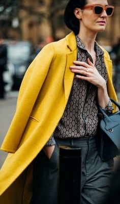 Make spring come sooner with a bright #coat. #newfoundlust #winterfashion