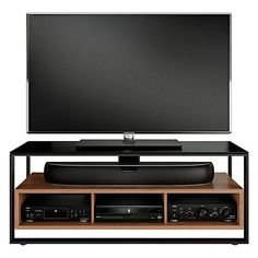 """Buy BDI Sonda 8656 TV Stand for TVs up to 60"""", Natural Walnut Online at johnlewis.com"""
