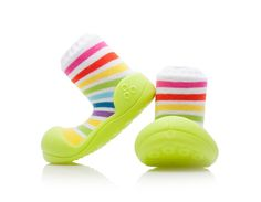 Barefoot topánky ATTIPAS Rainbow Green - ATTIPAS Zelená eb054e304a