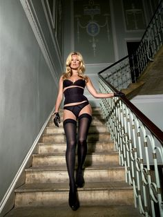 Kate Moss for Agent Provocateur! www.brayola.com