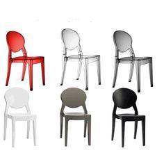 Sedie in pelle eleganti, robuste, comode e moderne, ottimo rapporto ...