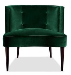 Chloe chair, Room and Board. Love the emerald green!
