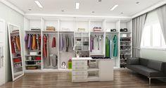 Closet Fábrica D'Marco, a primeira em móveis planejados no estilo sob medida! #fabricadmarco #moveisplanejadosnoestilosobmedida