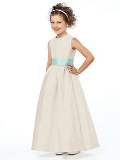 Lace Wedding Dresses, Gorgeous Satin Jewel Neckline Ankle-length A-line Flower Girl Dress, Find your personal style and the perfect wedding dress for your special wedding day Little Girl Dresses, Girls Dresses, Flower Girl Dresses, Flower Girls, Junior Bridesmaid Dresses, Wedding Dresses, Bridesmaids, Girl Fashion, Fashion Dresses