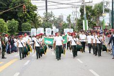 Banda de Guerra del #P01Cuernavaca recibió aplausos de los asistentes al Desfile del CCVII Aniversario del Inicio de la  #IndependenciaDeMéxico #juventudcultayproductiva #MorelosPatrio