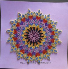 Quilled Mandala - OMG, I could go crazy looking at all of these!