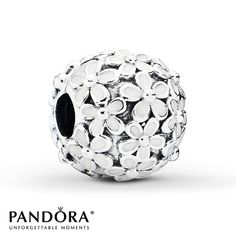 PANDORA Clip Daisy Meadow Sterling Silver