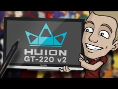 awesome Digital Tablet Review - HUION GT-220 v2 - IPS Pen Display
