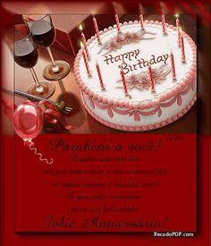 Mensagens de Aniversário para Facebook