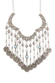 Boho chain necklace