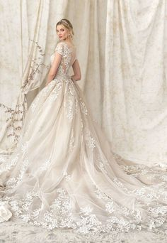 Courtesy of Justin Alexander Wedding Dresses Signature Collection; www.justinalexander.com; Wedding dress idea.