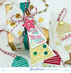 Christmas Tree Change Up Stamp Set: Papertrey Ink Clear Stamps Dies Paper Ink Kits Ribbon