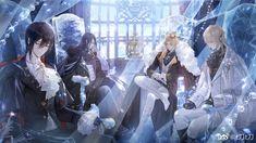 Blonde Anime Girl, Anime Boy Hair, Hot Anime Boy, Anime Demon Boy, M Anime, Anime Art, Cool Anime Guys, Handsome Anime Guys, Anime Love