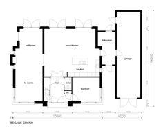 Plattegrond klassieke villa 356 plattegronden pinterest plattegronden huizen en schets - Moderne woning buiten lay outs ...