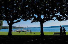 Lago Maggiore, Angera, lungolago