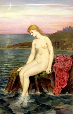 Evelyn De Morgan-The Little Sea Maid