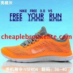newest 643d1 f098a Brighte Orange Nike Free 3.0 V5 Mens Grey Nike Air Max 2012, Nike Max,