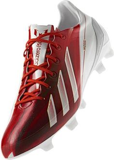 best sneakers cf5f0 cac32 New Messi Adidas Adizero F50 in White Red Launch March 2013 at Vancouver BC  Soccer Store