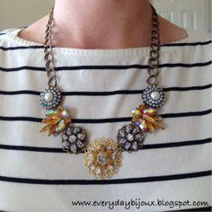 Everyday Bijoux: More 'Heirloom' Necklaces With My Grandma's Vintage Jewels