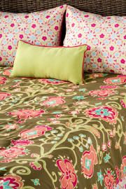 My old friend Laura Fair McClure:  her designs are gorgeous!  bedding, tabletop decor, giftables...just beautifull designs and coloring