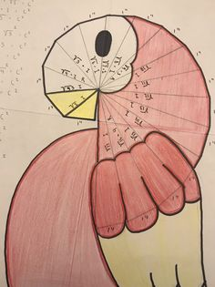 """For the fourth year in a row, students practiced the Pythagorean theorem and exercised their creativity with this art project. I first heard about """"wheel of theodorus"""" from yummy math a… Pythagorean Spiral, Pythagorean Theorem, Spiral Drawing, Spiral Art, Math Tutorials, Clay Crafts For Kids, Square Roots, Arts Integration, Math Projects"""