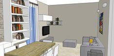 Progetto Living con cucina e tanti desideri – Mayday Casa Blog e Progetti Mirror, Storage, Furniture, Blog, Home Decor, Purse Storage, Decoration Home, Room Decor, Mirrors