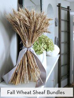 How to Make a Classic Wheat Sheaf Bundle