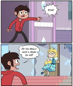 no marco i just decided to admit my false feelings at a party with all of your friends and dramatically leave with my mother to save the universe Funny Vid, Stupid Funny Memes, Disney Channel, Most Popular Cartoons, Starco Comic, Homestuck Characters, Princess Star, Evil Art, How To Make A Pom Pom