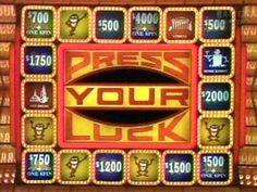 "Press Your Luck ""Big money...big money...no Whammy....STOP!"""