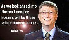 bill gates leadership quotes - Google Search
