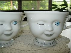 Baileys Irish Cream Winking Tea Cups