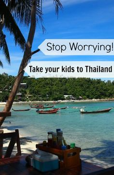 Take your kids to Thailand! Stop worrying about it, it's fine.Health worries, safety worries, hygiene worries, food worries....let us help you with that. Family Travel in Thailand from World Travel Family travel blog http://worldtravelfamily.com