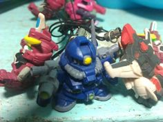 Gundam keychains I've made from my spare :)  **for sale Php35.00