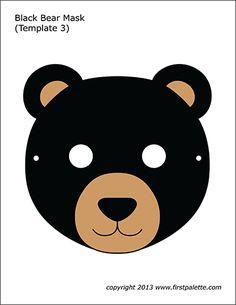 32 Best bear mask images | Bear mask, Bear, Bear costume