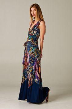 gorgeous jewel toned maxi