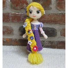 CROCHET PATTERN - Rapunzel