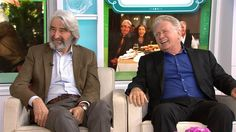 Legendary actors Sam Waterston and Martin Sheen talk to Kathie Lee and Hoda about playing lovers in Netflix's new series, they also discuss their kiss scene and their co-stars Jane Fonda and Lily Tomlin.