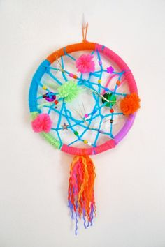 Image of Dreamcatcher (small)   does anyone know how to make a dream catcher...little r needs one!