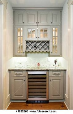 Nice butler pantry design, but would add a small sink