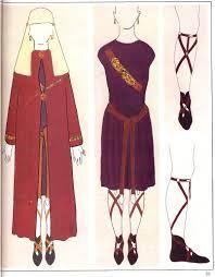 Costume mérovingien VIIe siècle – ATELIER COBALT