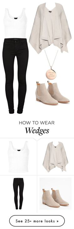 """Untitled #770"" by chanelover01 on Polyvore featuring Kate Spade, J Brand and rag & bone"