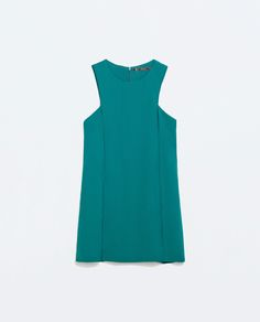 SEAMED A-LINE DRESS from Zara