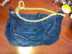 tutorial borsa di jeans