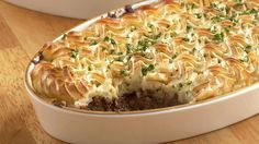 Make this recipe for Cottage Pie from former royal chef Darren McGrady.