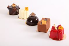 Individual Pastry Collection   Georges V   Louvre   Decadence   St Germain