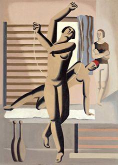 Willi Baumeister, Rope-Jumper, 1928