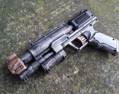 Nerf goma manija Zombie Strike tiro claro - apocalíptico, Zombie, vampiro, Cosplay, pistola Steampunk - (estaño/rubí)