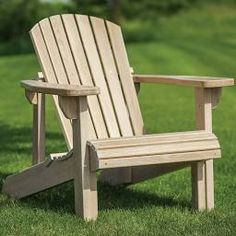 Rockler Adirondack Chair Templates with Plan